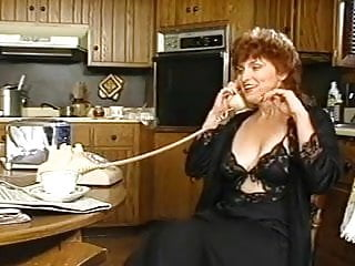 Cordless vintage phones Milfs at phone...