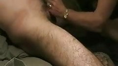 cum denial with the wife