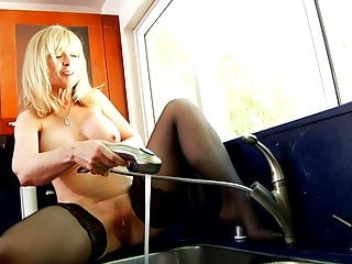 Bottom mount refrigerator with water dispenser Nina hartley playing with water