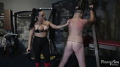Heel Sucking Slut - Mistress Chloe and Her Boot Bitch