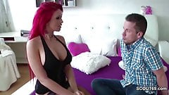 German Redhead Amateur Teen Lexy Fuck with Stranger User