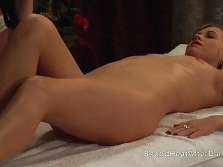 Pleasure and pain tattoo Pleasure and pain: mistress enjoys massage and pussy rubbing