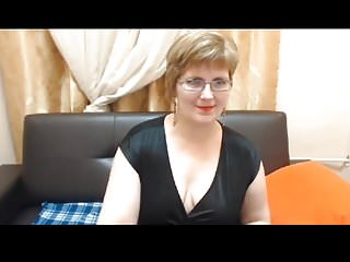 Web video strip topless - Mature web model strips and opens up