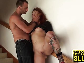 Muscular anus - Tattooed tallulah gets her anus nailed