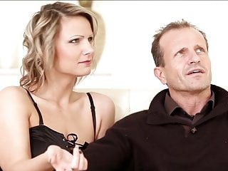 Step daughter fucks dad Horny step-daughter fucks her step-mom and step-father