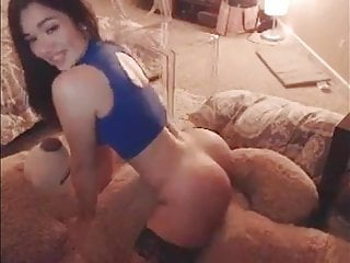 Bear cock massage - Beautiful asian girl humping her teddy bear