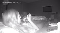 Milf Can't Stop Masturbating, Hidden Cam