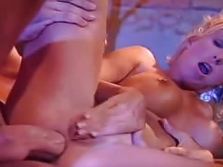 Blonde fake tits gets oral Cute blonde pro with fake tits gets her ass fucked