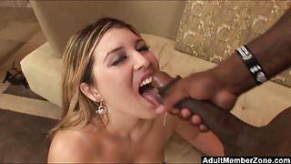 AdultMemberZone - Big booty blonde satisfied by a big dick.