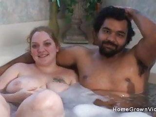 Free home grown porn video Amateur interracial couple make their first porn video