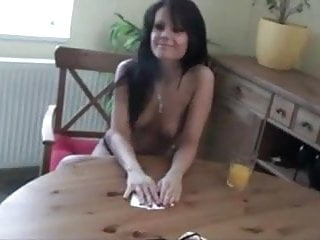 Strip poker couple webcam Homemade strip poker ends with anal