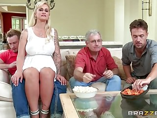 Boy gay strippers Brazzers - my stepmom bought me a stripper