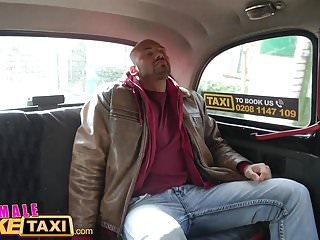 Female riding and cumming porn - Female fake taxi fit taxi driver rides cock like a pro