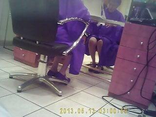 Photo de femme mature - Vues de femme chez le coiffeur