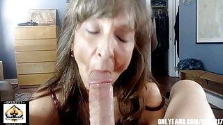 Sexy Milf Marie Blowjob Extraordinaire