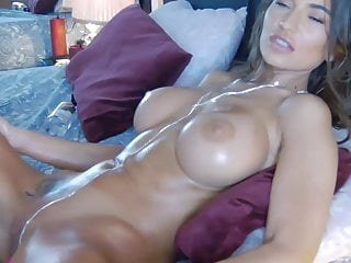 Clean shaved milfs Big tits hot brunette babe fingering her clean shaved pussy