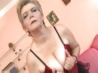 Mature crazy Blonde mature crazy for young cock
