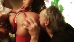 Playful chicks are ready to please a horny dude