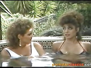 Hot clips retro vintage lesbians Christy canyon and erica boyer have hot intense lesbian fun