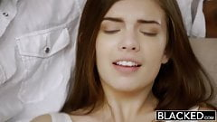 BLACKED - First Interracial For Pretty GF Zoe Wood