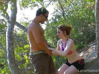 Red haired gay videos Red-haired babe gets plowed in truck.mp4