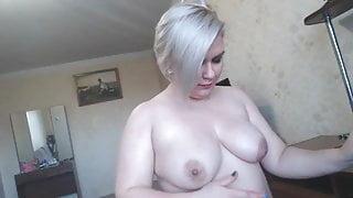 Russian Curvy Step Mom Katty