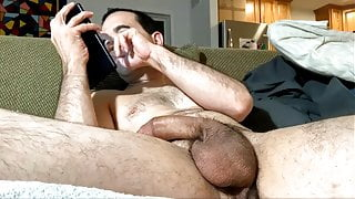 Daddy dozing  off