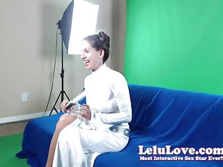 Luke/leia adult fanfiction Webcam: girl dressed as princess leia masturbates with toys