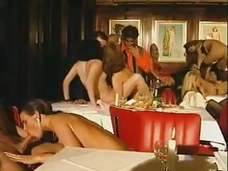 Pornoluver S Wild Resturant Groupsex Orgy