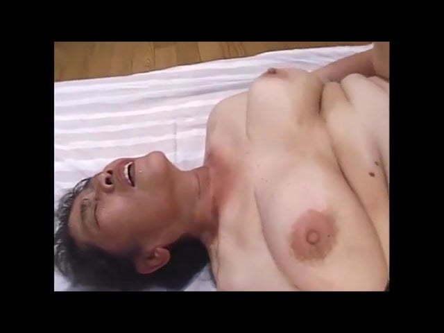 【高齢熟女】七十三歳古希の素人お婆さんが頑張ってセックス撮影!