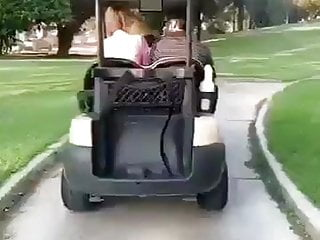 Golf blowjobs Golf outdoor sex