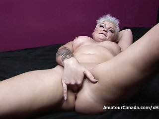 Movies huge dildo insertions Short haired chubby kitty tries to insert huge toy in petite