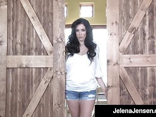 Cowboys cheerleaders ass Hot long legged jelena jensen dildo drills in cowboy country