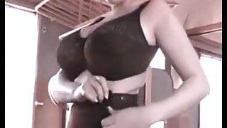 Big boobs conductress