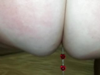 Beads in there ass Texas pawg anal beads