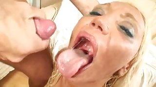 Bulgarian slut take a big cock.