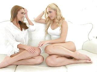 Sapphicerotica lesbian - Sapphicerotica sensual girls in white enjoy lesbian fun