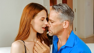 DADDY4K. Sex with BF's dad is dazzling