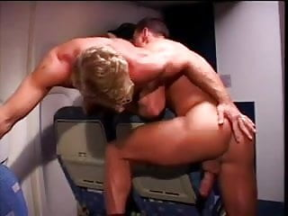 Mile high boobs Bisexual sex in the plane - mile high 2