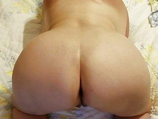 Ass open round Wife spreading her chubby ass open