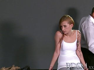 Dad xxx girls - Bdsm xxx teen sub girls innocent face drips with masters hot