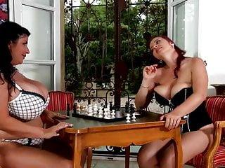 Vintage castiron chess set Bbw lesbians play chess ttt
