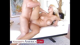 SARAH VANDELLA FUCKING ON THE COUCH WITH HER BIG ASS