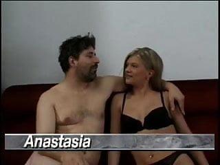 Facial abuse anastasia Anastasia and jean yves lecastel