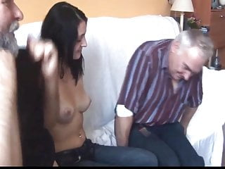 Old elderly wrinkled porn Five potent elderly men hire a young pretty prostitute