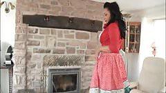 danica collins at home