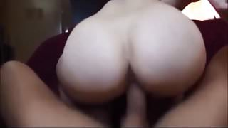 Amateur hot ass babe getting fucked