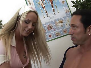 Natural facial treatments - Naughty nurse sucks her patients cock for treatment