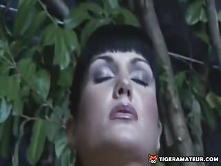 Blowjob handjob busty girlfriend Hot amateur busty girlfriend threesome action with facial