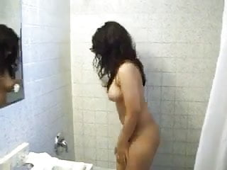 Indian porns film 2005 Indian cutie allows to film her while she is taking a shower